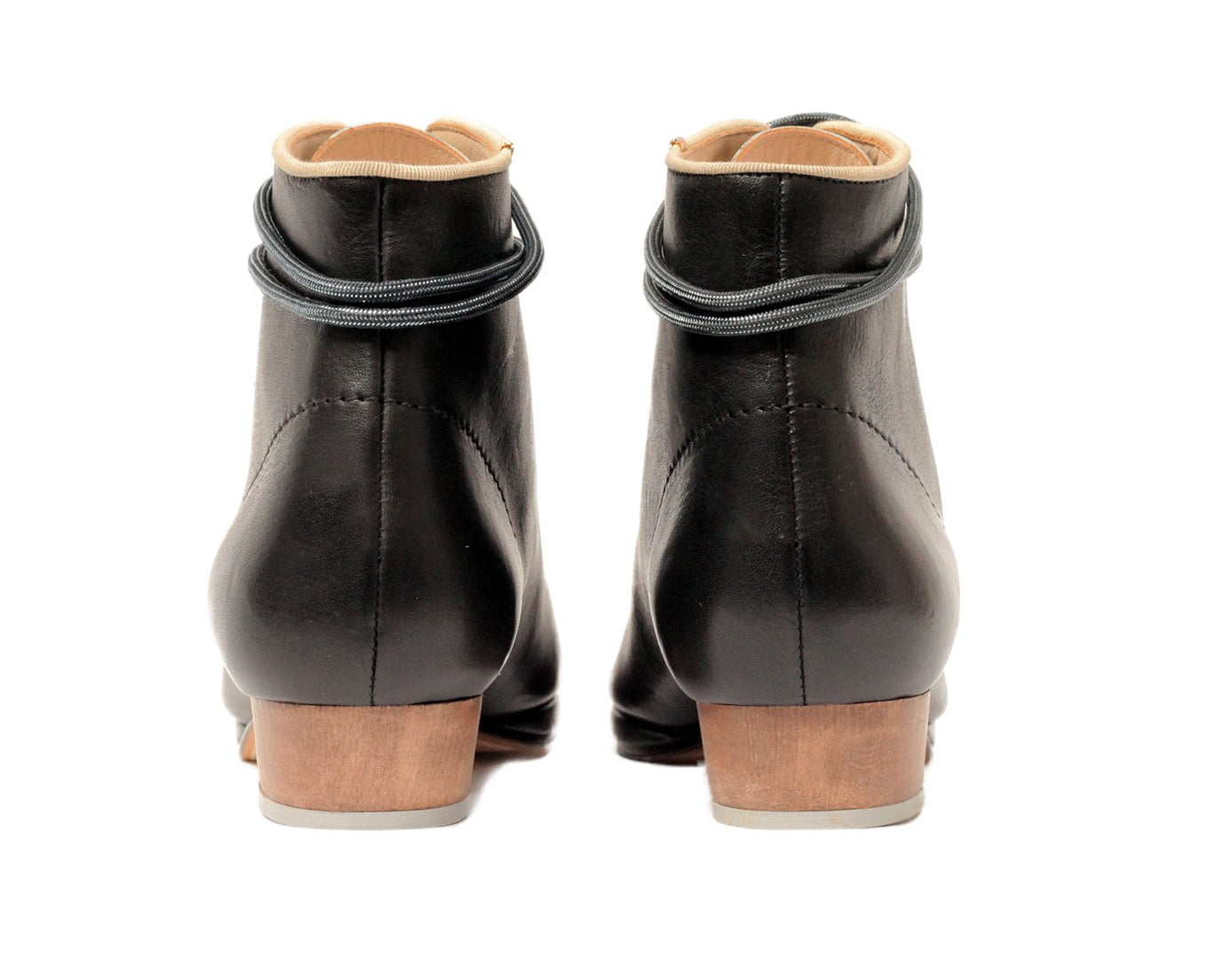 Zachary Lace Up Boot Black