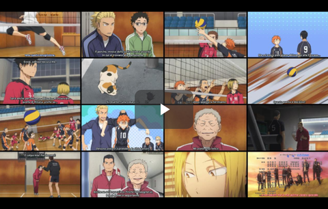 Episodio 13-1 Haikyuu!