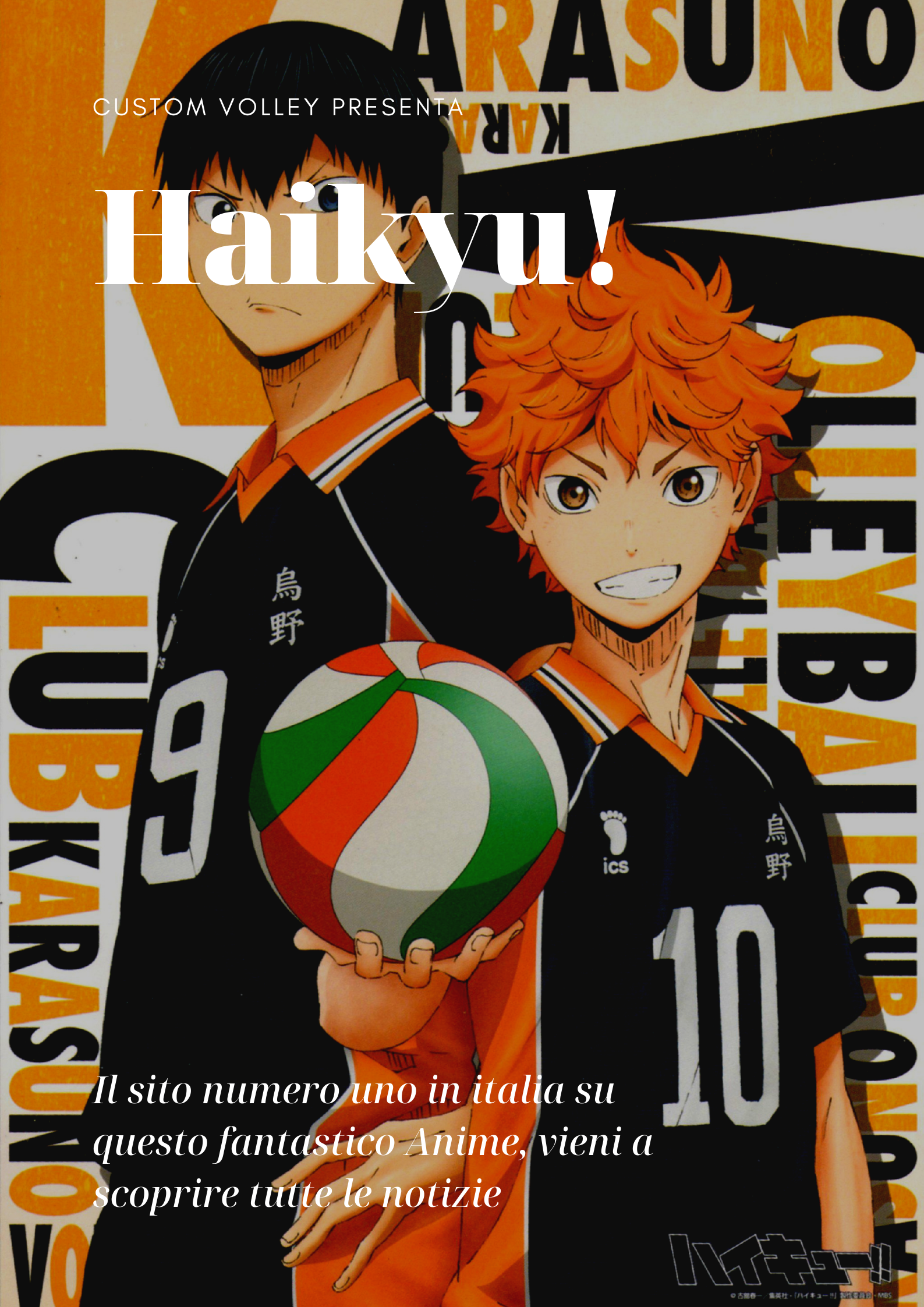 Haikyu, L'asso del volley