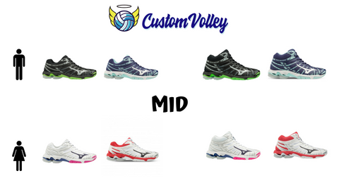 Colori disponibili Mizuno Wave Voltage