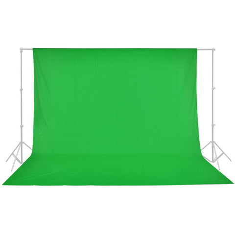 100% Cotton Photo Studio Background 10x10' Green Muslin Photo Backdrop