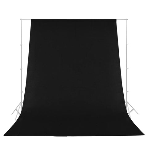 Black Muslin Backdrop Photo Studio Photography Background 100% Cotton