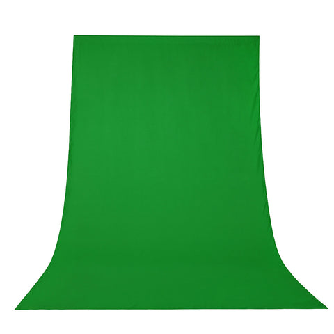6x9Ft Photo Backdrop Chromakey Green Polyester Fabric Background
