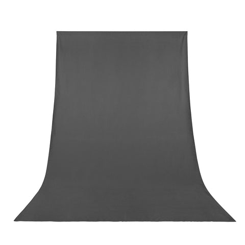 Fabric Background Polyester Photo Backdrop 6x9ft Gray