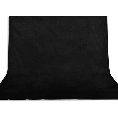 Economy Black Backdrop Photo Studio Photography Background 6.6X5.2Ft