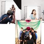 8.5' x 10' Adjustable Photography Background Backdrop Stand Support