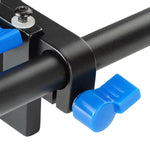 Camera Stabilizer 15mm Rail Rod Support Mount with Lock System for