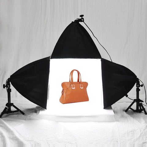 "Table Top 16""x16"" Photo Studio Shooting Tent+3 Lighting Softbox 45W+4"
