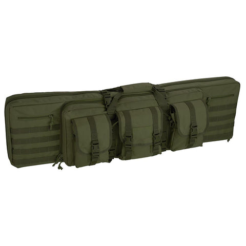 "42"" Tactical Dual Rifle Gun Bag Case Double Backpack Straps Pouches"