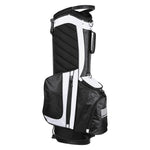 16x11x35' 600D Golf Stand Bag White Golf Carry Bag 14-Way 7 Pockets