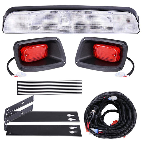 Golf Cart LED Light Kit ABS Plastic Compatible With EZGO Medalist