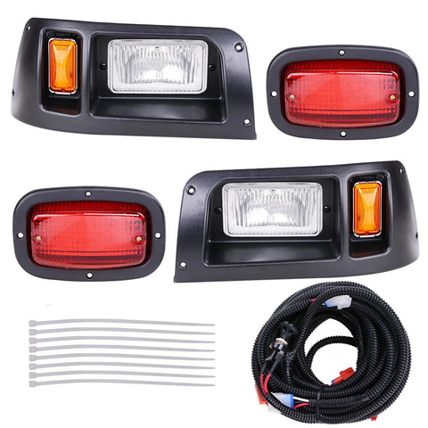 Golf Cart LED Light Kit ABS Plastic Compatible With Club Car DS Models