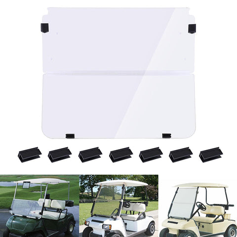 Fold Down Golf Cart Windshield With Club Car DS 1982-2000