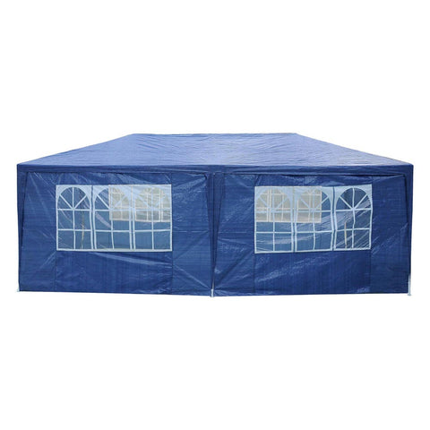 "Outdoor Wedding Party Tent 6 Sidewalls 10""x20"" Blue"