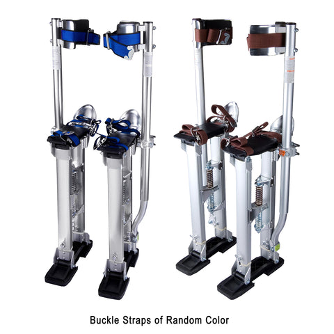 "24""-40"" Professional Grade Adjustable Drywall Stilts Taping Paint"