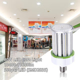80W LED Corn Light Bulb E39 10400LM 5000K 560 Pcs SMD 2835 Built-in