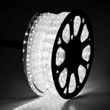 150 FT Cool White 2 Wire LED Rope Light Outdoor Home Holiday