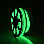50 FT 110V Green Flexible LED Neon Rope Light Indoor Outdoor Holiday