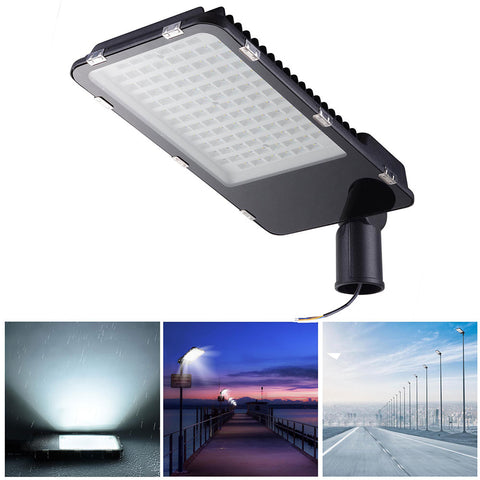 100W LED Road Street Light 12000lm 6500K IP65 Wired Spot Parking