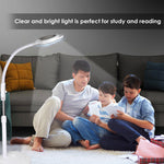 5x Diopter LED Magnifying Rolling Floor Stand Lamp Adjustable