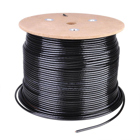 1000 ft Bulk Cat5e Ethernet Cable 24AWG Network Wire UTP Waterproof