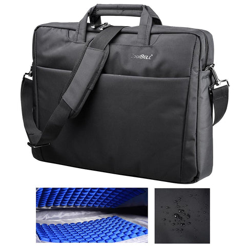 "CoolBELL 17.3"" Laptop Notebook Handbag Messenger Sleeve Case Bag"