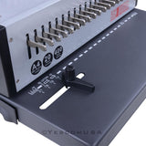 Electric Adjustable 1-21 Hole 400 Sheets Paper Comb Punch Binder