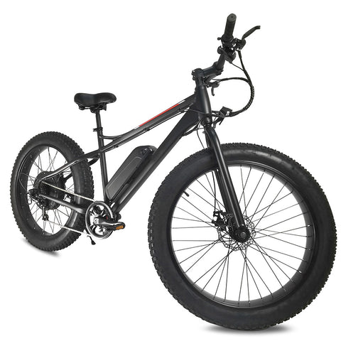 Fat Tire Electric Bike Powerful 500W 48V/10AH Removable Lithium Battery Ebike
