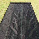 6ft x 250ft Landscape Fabric 4.1oz Weed Barrier Woven PP with UV