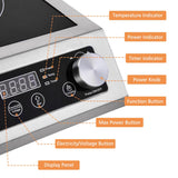 Electric Induction Cooktop Cooker Burner 3500W