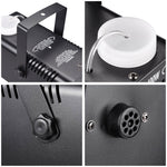 400W Smoke Effect Machine Stage Fogger Equipment Wired Control Disco