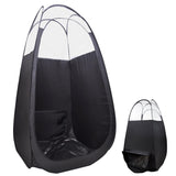 Pop Up Black Airbrush Sunless Spray Tanning Tent with Booth Air Vent