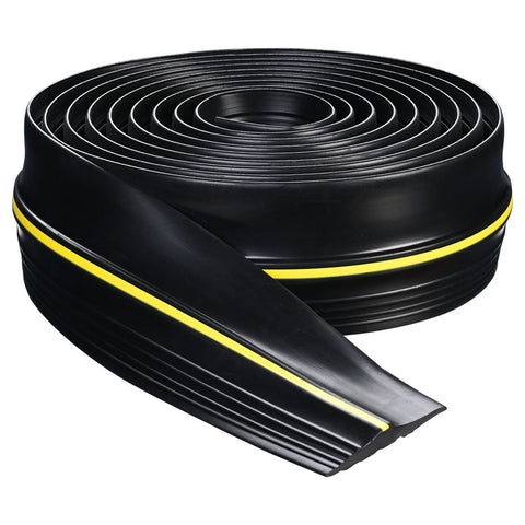 Garage Door Bottom Threshold Sealing Strip PVC Universal Flood Barrier DIY 16 Ft