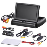Wireless Car Rear View Backup Camera Kit 4.3in