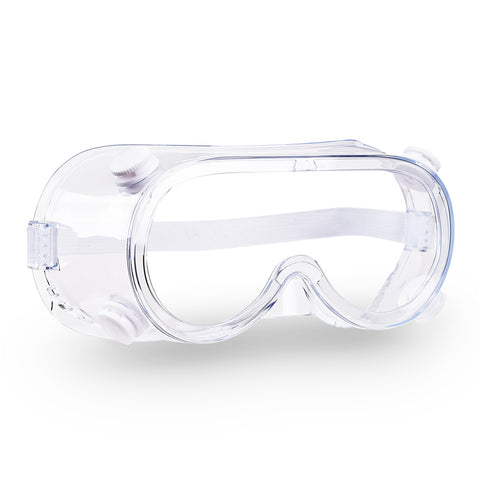1 Pair Disposable Safety Goggles Glasses Anti Fog Protective Eyewear Clear Lens