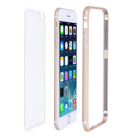 Ultra-thin Aluminum Metal Case transparent Back Cover For Apple