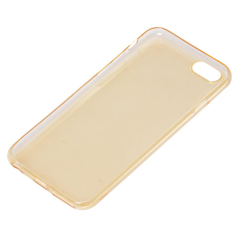 iPhone 6/6S Case TPU Transparent Golden Protective Cover Compatible