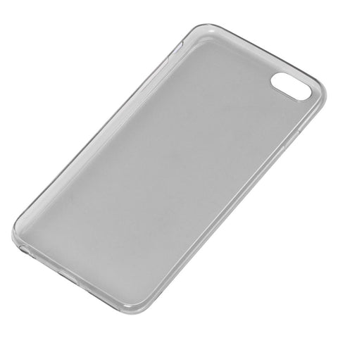 iPhone 6/6S Plus Case TPU Transparent Gray Protective Cover Compatible
