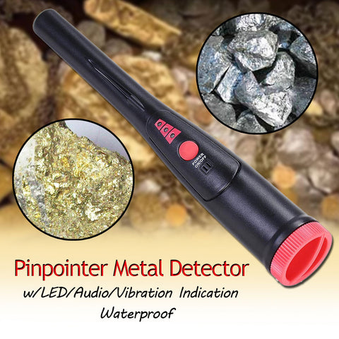 Pinpointer Metal Detector Handheld Gold Digger+Holster High