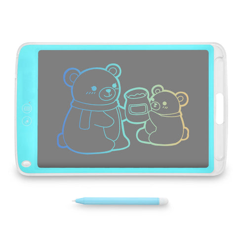 "10"" LCD Writing Pad Drawing Tablet Electronic Doodle Board Erasable Kids Stylus"