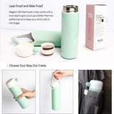 15oz/450ml Stainless Steel Water Bottle Cup Vacuum Insulated Leak