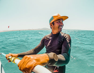 "Meet BUOY Team Rider and Pro Kitesurfer Gunnar ""Chinatown"" Biniasch"