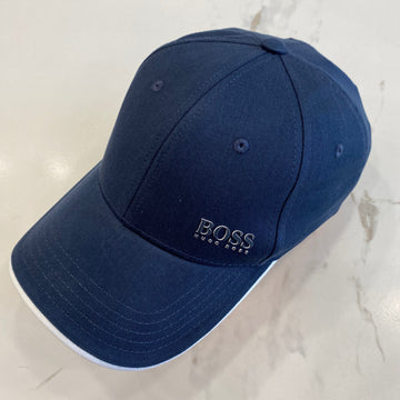 Hugo Boss Navy Baseball Cap