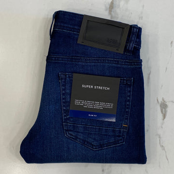 Hugo Boss Delaware Mid wash Denim