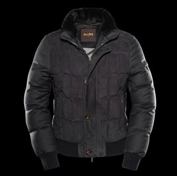 Moorer Black Agon Jacket