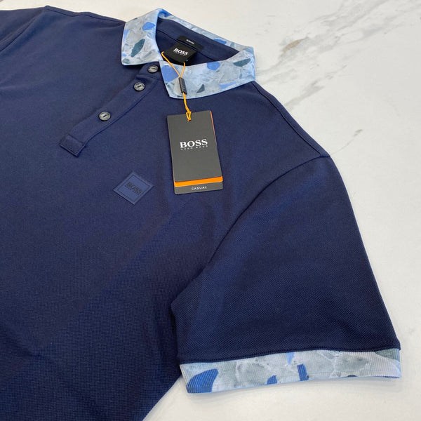 Hugo Boss Platinum Navy Polo
