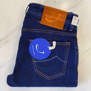 Jacob Cohen Denim with Rust Badge