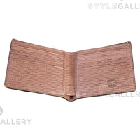 Hugo Boss Brown Timeless Brown Italian Leather Wallet