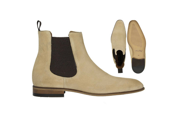 LaCuzzo Sand Suede Chelsea boot