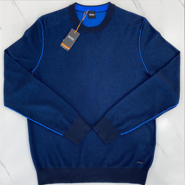 Hugo Boss Ashero Blue Jumper